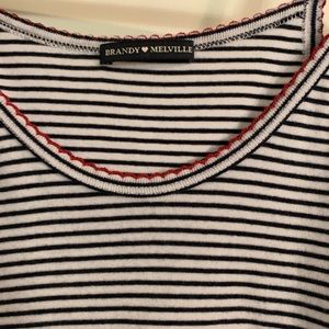 Brandy Melville Tops - Striped Tank Top